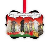 Singing Bunnies Christmas Ornament