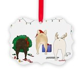 French Bulldog Picture Ornament