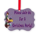 Purple dragons Christmas Party invites (Pk of 20)