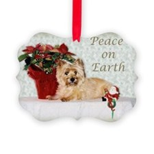 Peaceful Cairn Terrier Ornament