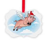 Merry Pigmas! Ornament