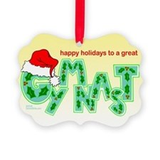 Holiday Gymnast Ornament