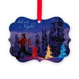 Silent Night - Christmas Scene (Female Runner) Gre