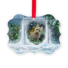 """Schnauzer Christmas"" Ornament20 pack)"