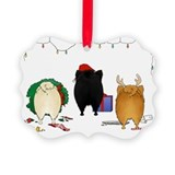 Pomeranian Christmas Ornament