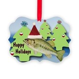 HAPPY HOLIDAYS SANTA BASS (Pk of 20)
