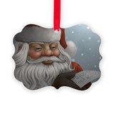 Thank You Santa Christmas Picture Ornament0