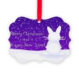 Snow Bunny Ornament
