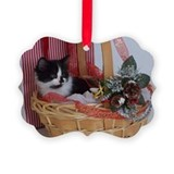 Kitten Christmas Ornament