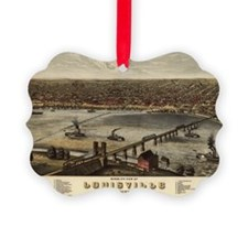 Louisville, Kentucky 1876 Ornament0