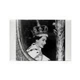 Oldskool Queen Elizabeth Rectangle Magnet (100 pac