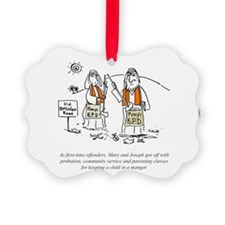 Irreverent Christmas Ornament