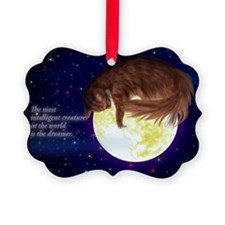 Warm Picture Ornament from cat lover (Pk of 20)