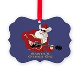 Santa's Other Gig Picture Ornament