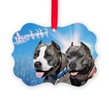 Unique Amstaff art Ornament