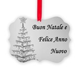 Buon Natale Picture Ornament