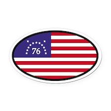 Spirit of '76 Flag Oval Oval Car Magnet