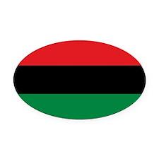 Africa Flag Oval Car Magnet Oval Car Magnet
