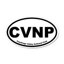 Cuyahoga Valley National Park Oval Car Magnet