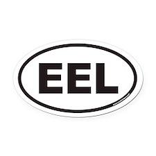 EEL Euro Oval Car Magnet
