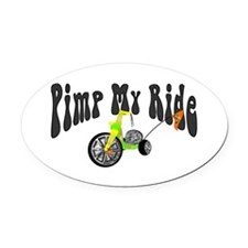 Pimp My Ride Oval Car Magnet