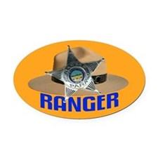 Ranger on Oval Car Magnetrol Oval Car Magnet