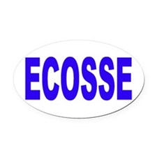 ECOSSE - SCOTLAND Oval Car Magnet