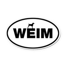 WEIM Oval Car Magnet
