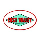 EVSA Oval Car Magnet