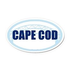 Cape Cod Bumper Oval Car Magnet Oval Car Magnet