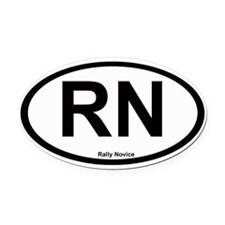 Oval Car Magnet Oval Car Magnet