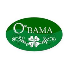 ::: Irish O'bama 44th President ::: Oval Car Magne