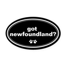 Got Newfoundland? Oval Car Magnet