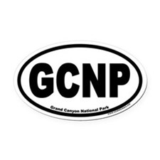 Grand Canyon National Park GCNP Euro Oval Car Magn