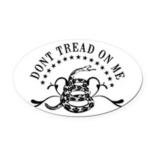 Dont Tread Fancy Oval Car Magnet