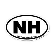 Nags Head, NC Oval Car Magnet
