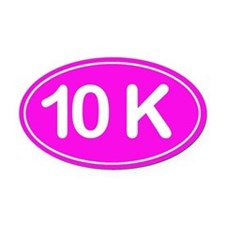 10K *pink* Oval Car Magnet