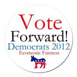 Vote Forward Car Magnet