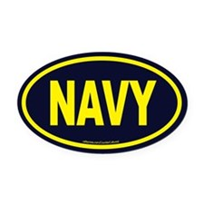 Cool Military west point Oval Car Magnet