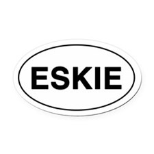ESKIE Oval Car Magnet