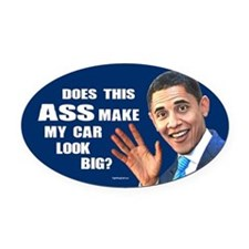 Does this A--? Oval Car Magnet