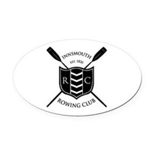 Innsmouth Rowing Club Oval Car Magnet