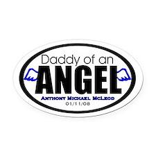 Custom for Danielle Oval Car Magnet