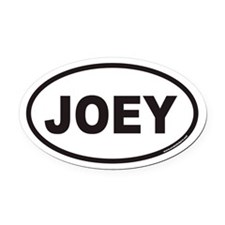 JOEY Euro Oval Car Magnet