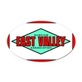 EVSA Oval Car Magnet 2