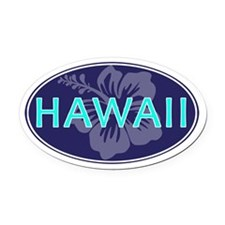 HAWAII - Oval Car Magnet