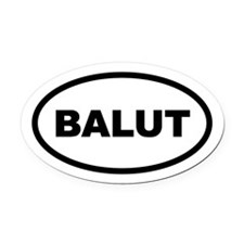 Balut Oval Car Magnet