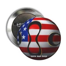 "USA Soccer 2.25"" Button (100 pack)"