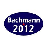 Cute Michele bachman Oval Car Magnet