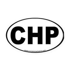 Oval CHP Oval Car Magnet